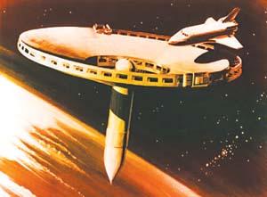 期幻想作品中的外太空人类定居点-环球时报 探索太空人类才刚刚起图片