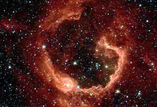 科技时代_天文学家发现巨型恒星诞生触发机制(组图)