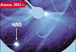 科技时代_美欧太阳探测器SOHO疑发现不明飞行物(图)
