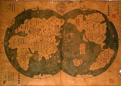 科技时代_孟席斯被指认错地名 郑和版世界地图遭质疑
