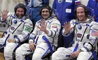 科技时代_联盟飞船升空 巴西首位宇航员开始太空之旅