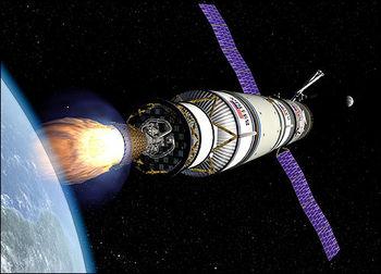 科技时代_美国宇航局新一代登月航天器形似阿波罗(图)