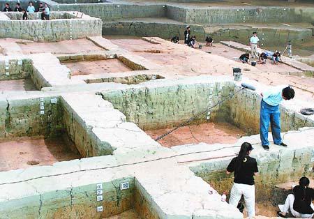 科技时代_金沙遗址考古获重大发现 3000年前乐器现身