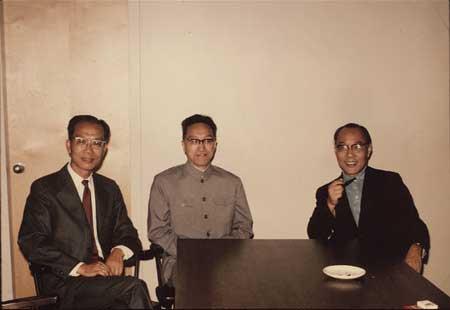 科技时代_图文:杨嘉墀在哈佛大学与王安朱祺瑶会面