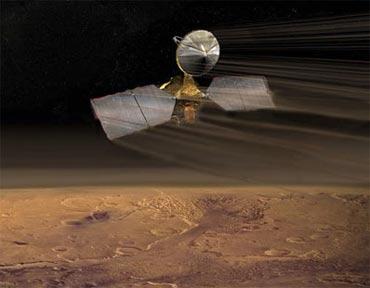 科技时代_美火星勘测轨道飞行器将提前进入工作区(图)