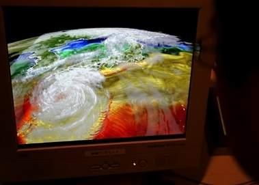 科技时代_日本用超级计算机进行未来30年天气预报(图)