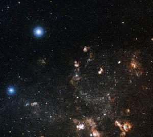 科技时代_哈勃拍摄到大麦哲伦云中的恒星(组图)