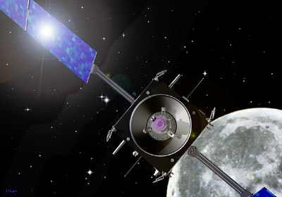 科技时代_欧洲宇航局探测器为月球起源分裂说提供证据