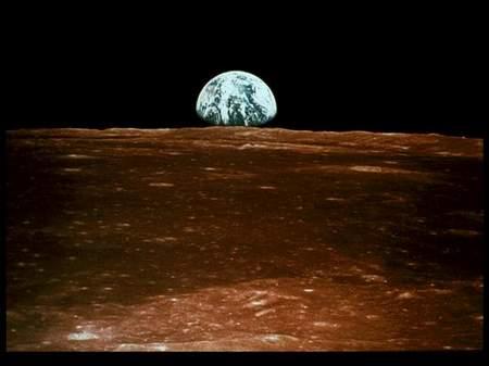 科技时代_图文:从月球上看到的地球