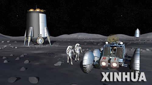 科技时代_美宇航局:2024年普通游客将有机会登月居住