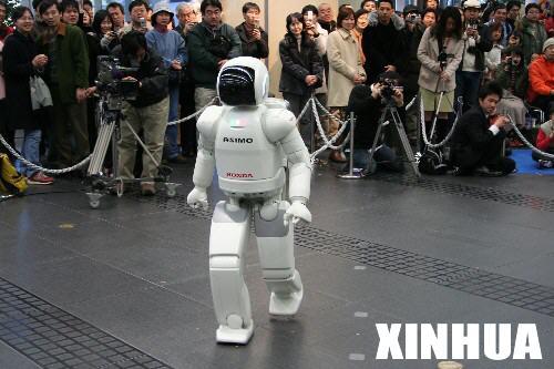 科技时代_美国成功研制利用脑电波控制的机器人(组图)
