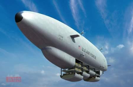 科技时代_平流层大飞艇,拿未来说事儿(组图)
