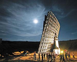 科技时代_美富豪欲造15米高巨型月光镜治癌症(图)