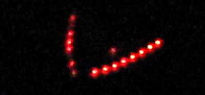 科技时代_上海虹口杨浦夜空出现两个V字形UFO(图)