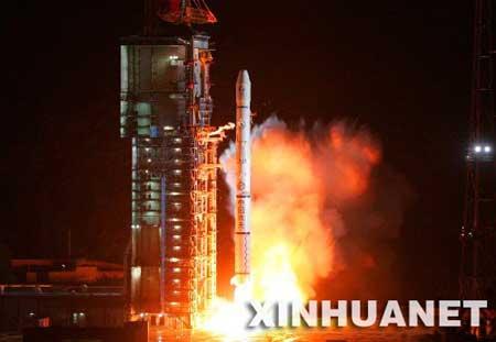 """科技时代_""""鑫诺三号""""通信卫星发射成功"""