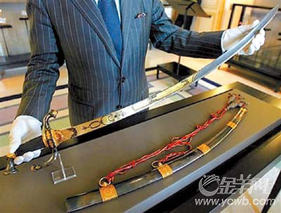 科技时代_拿破仑用剑拍出480余万欧元