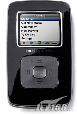 业界领先MusicGremlin发布无线MP3播放器