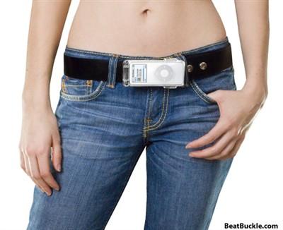 小蛮腰的诱惑超妩媚iPod竟成了腰带