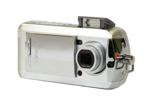 时尚推出的数码相机系列,最新的pdr-t20 一改之前t10强调的可爱多变