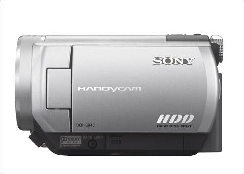 大众化硬盘DV登场 索尼发布三款SR系列机型