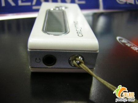 创新新品MP3上市 FX2001GB要价750元