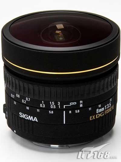 适马推出8mm数码单反专用180度鱼眼镜头