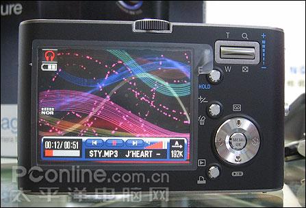 NV的多媒体魅力!三星新品DC蓝调NV3上市