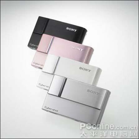 再续名片设计索尼发布时尚卡片机T10