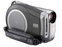 佳能推出220万像素DVD数码摄像机DC22