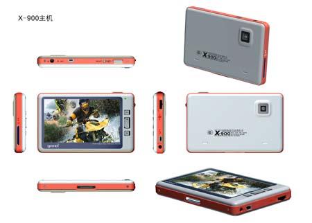 歌美1600万色游戏X900支持GPS和DMB