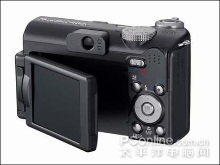 2.5英寸可旋转LCD佳能发布PowerShotA640