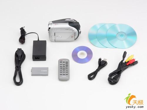 佳能发布了首款双层记录DVD摄像机DC22
