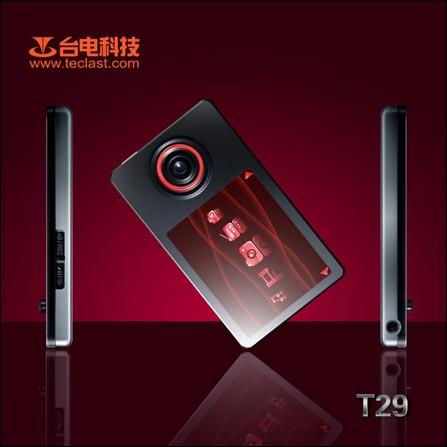 挑战者出场台电新双核芯MP3T29真机图