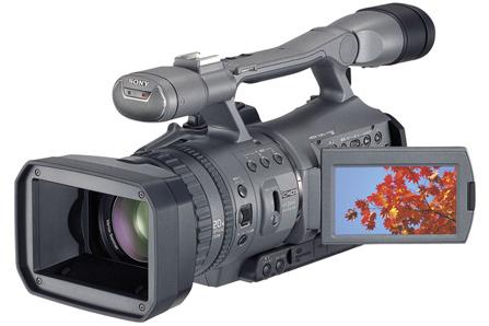 索尼推出最轻小的专业HDV摄像机FX7