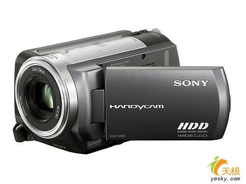 海量存储索尼60GB硬盘DV-SR80E到货