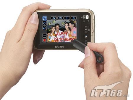 个性涂鸦索尼发布千万像素卡片相机N2