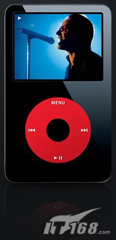 苹果推出最新ipod u2升级版