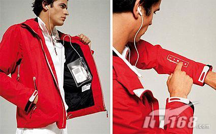 标价750美元iPod专用iJacket型夹克