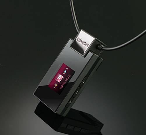 秋风送爽iAudio项链MP3机T2降价