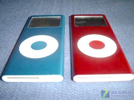 红色版苹果iPodnano真机精美图欣赏(5)