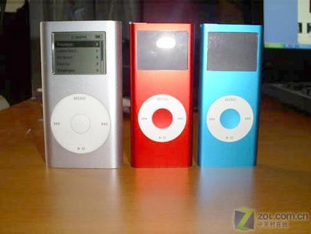 红色版苹果iPodnano真机精美图欣赏