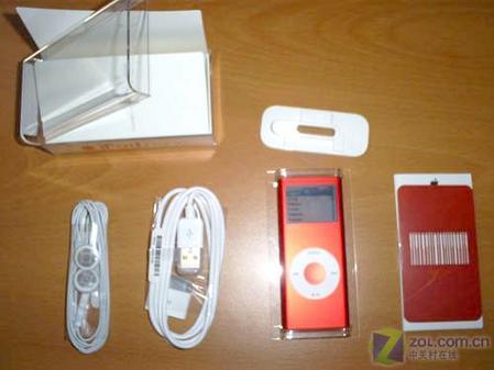 红色版苹果iPodnano真机精美图欣赏(4)