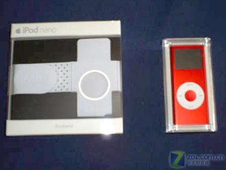 红色版苹果iPodnano真机精美图欣赏(7)