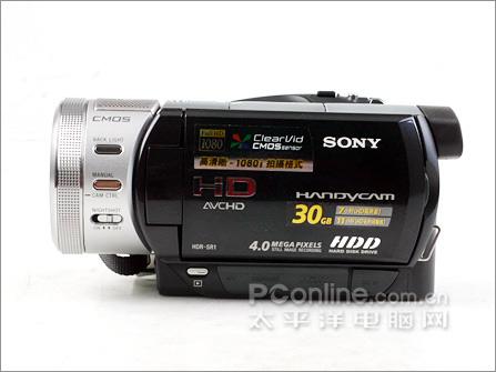 高清影像旗舰索尼30G硬盘摄像机SR1E评测报告