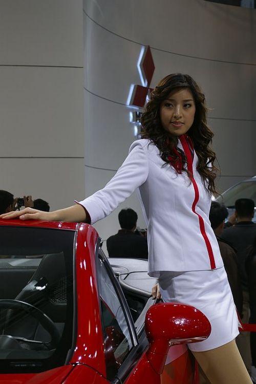 美女的聚会DC镜头中的北京2006车展之二