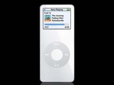 苹果iPod占据优势本周MP3关注TOP排行