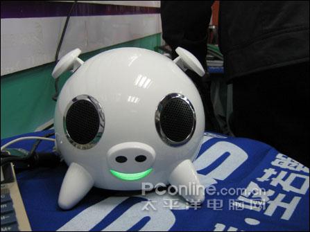 肥肥白白过猪年iPod绝配小猪音箱只卖299