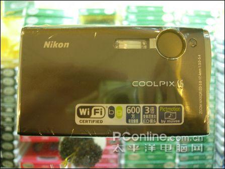 注意WI-FI的标志-带WIFI 尼康超靓3 屏卡片机S6年终1800图片