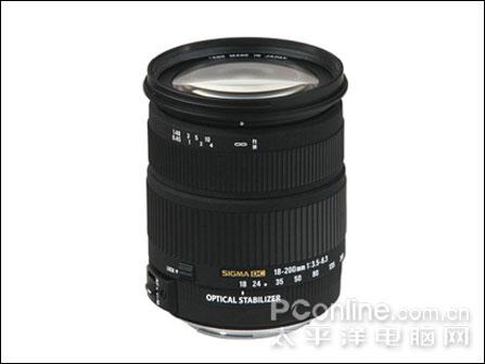 适马公布18-200mmF3.5-6.3DCOS镜头