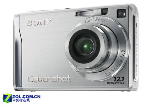首款1200万像素消费相机索尼W200发布